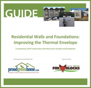 Fox Blocks Guide - Residential Walls and Foundations: Improving the Thermal Envelope